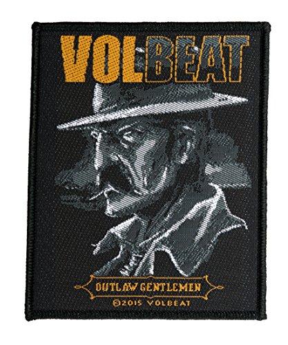 Volbeat Aufnäher - Outlaw Gentlemen -(SP2807) Volbeat Patch - Gewebt & Lizenziert !!