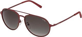 Sting - SST0045506F5 Gafas de sol, Rojo, 55 para Hombre