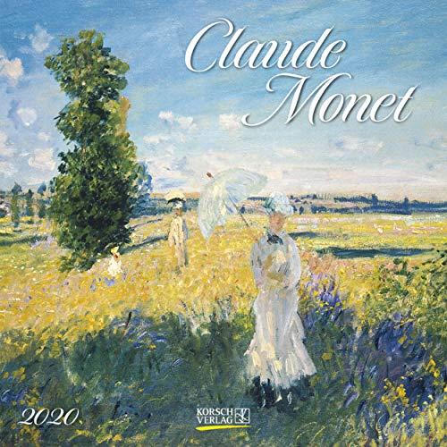 Claude Monet 2022: Kunstkalender mit Werken des Malers Claude Monet. Broschürenkalender mit Ferienterminen. Format: 30 x 30 cm