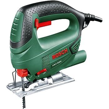 Bosch Home and Garden 06033A0700 PST 650 Compact Easy Seghetto Alternativo, 500 W, Nero/Verde65 mm