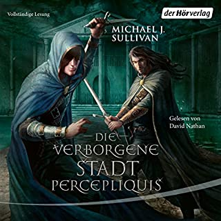 Die verborgene Stadt Percepliquis audiobook cover art