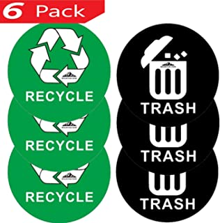 recycling logo stickers