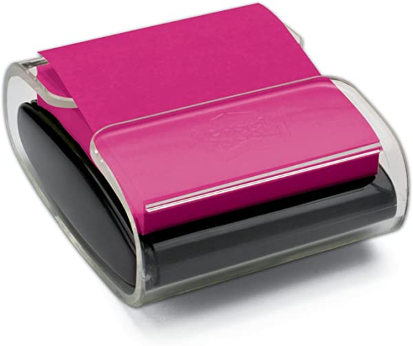 Post It Pop Up Note Dispenser Black Designed To Work With Post It Pop Up Notes Fits 3 In X 3 In Notes 1 Dispenser Pack WD330 BK