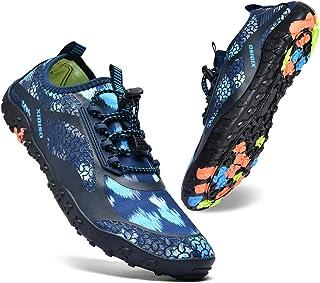 XIDISO أحذية مائية للرجال والنساء سريعة الجفاف حافي القدم للسباحة وركوب الأمواج والرياضات المائية وحمام السباحة والشاطئ وا...