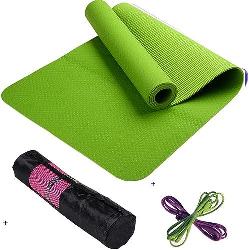 EU8 Tapis de Yoga Professionnel Tapis de Yoga allongé antidérapant Tapis de Fitness Natte