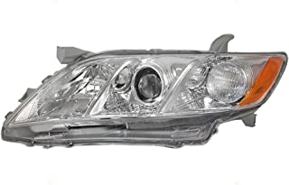 Headlight Headlamp with Clear Lens Driver Replacement for 07-09 Toyota Camry USA 8117006202