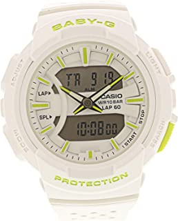 Baby G Women's Automatic Wrist Watch digital Display and Resin Strap, BGA240-7A2