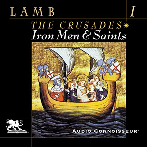 Iron Men and Saints audiobook cover art