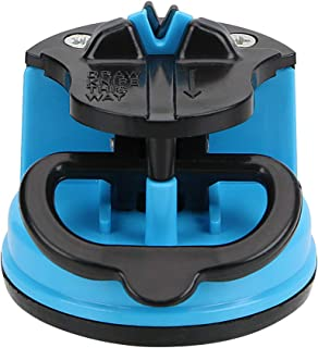 NOPNOG - 1 afilador de Cuchillos con Ventosa para Tijeras de Cocina, Color al Azar
