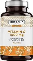 Vitamine C 1000 mg Antioxydant Concentré Pure Végétalien par dose (2/j)   Fatigue, Système Immunitaire avec Églantier et...