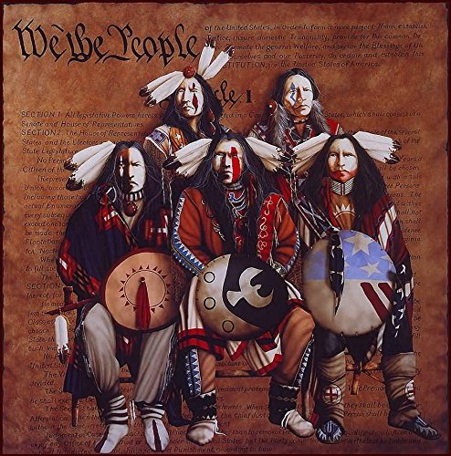 JD Challenger - We the People Hand Pulled Serigraph