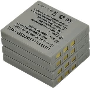 D-LI8 Battery for Pentax DLI8 D-Li85 DLi85 D-L18 DL18 D-L185 DL185 Opt...