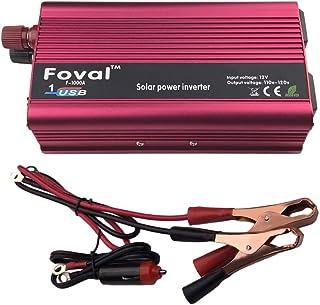 Gessemce 1500W Inversor de Corriente para automóvil DC12V al inversor AC110V Cargador Doble convertidor USB Transformador Transformador de Alta conversión de eficiencia