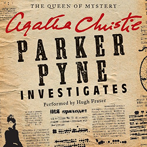 Parker Pyne Investigates audiobook cover art
