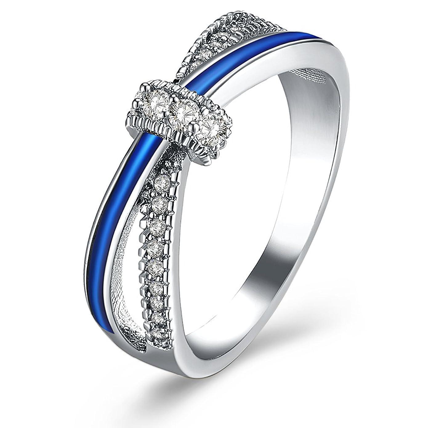セミナーエーカー軍団カップルの指輪 バレンタインデーのプレゼント 婚約指輪 気質がよく売れる アレルギー防止 指輪のネックレス 男女が着用することができます