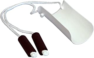 Sock Aid Formed w/ Foam Handles Molded Plastic Frame, Large Foam Handles, Easy to Grip, 33'' Long, Easy-On and Easy Off Sock Aid