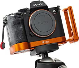New Upgrade 2019 Stabil LSIII - L Plate (Bracket) for Sony A7RIII; A7III & A9 (Orange)