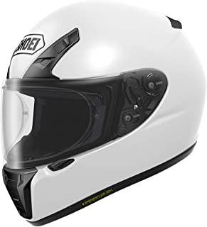 white shoei helmet