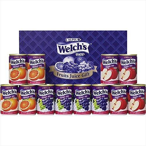 カルピス Welch'sギフト W15 【ウェルチ カルピス 詰め合わせ ジュース ドリンク 果汁100%】