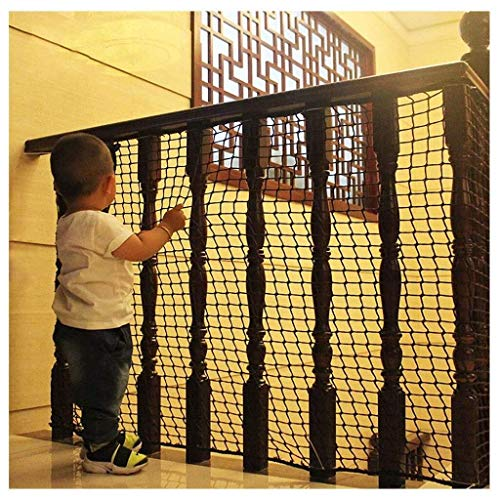Find Bargain DLYDSSZZ Protection Net Child Safety Net Anti-Fall Wall Fence Decor Garden Balcony Stai...