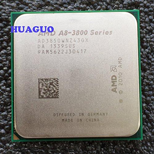 AMD A8-Series A8-3850 (4x 2,9GHz) AD3850WNZ43GX Sockel FM1 #