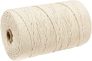 Home Clearance Sale Macrame Cotton Cord for Dream Catcher (3mm x 200m)
