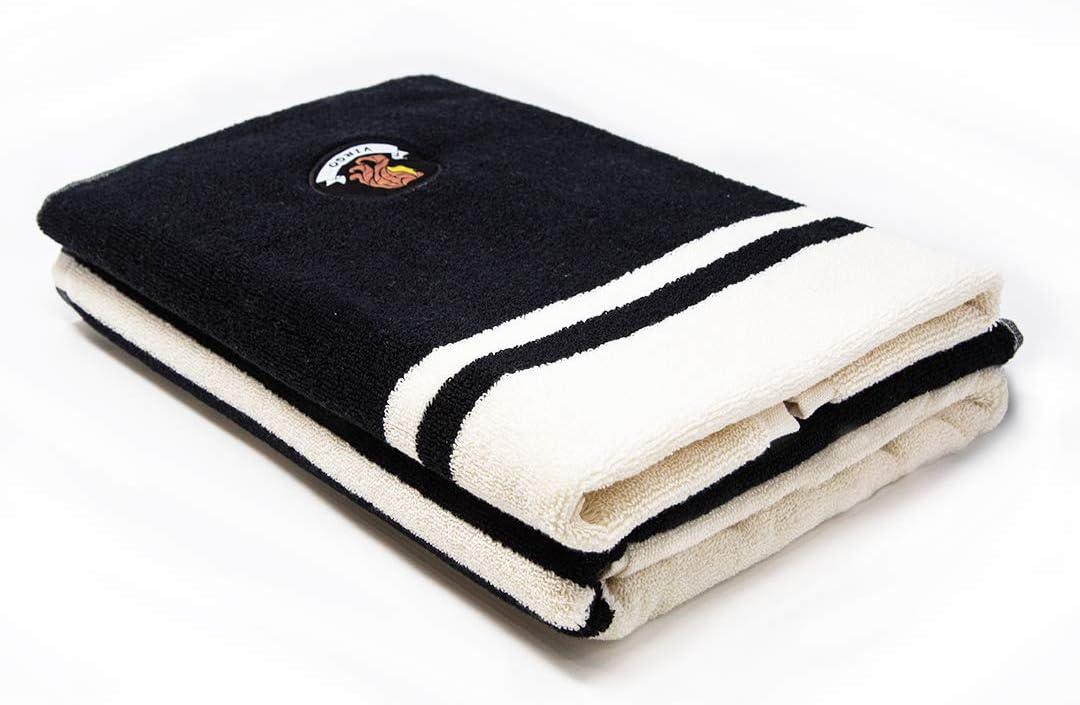 Set di 2 Asciugamani Asciugamani da Bagno 550 gsm Altamente Assorbente 1 Asciugamano da Bagno, 1 Asciugamano Super Morbidi Vergine Trident Collezione Zodiac 100/% Cotone