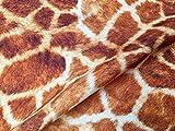 Stoff mit Giraffen-Digitaldruck, Baumwolle, für Vorhänge,