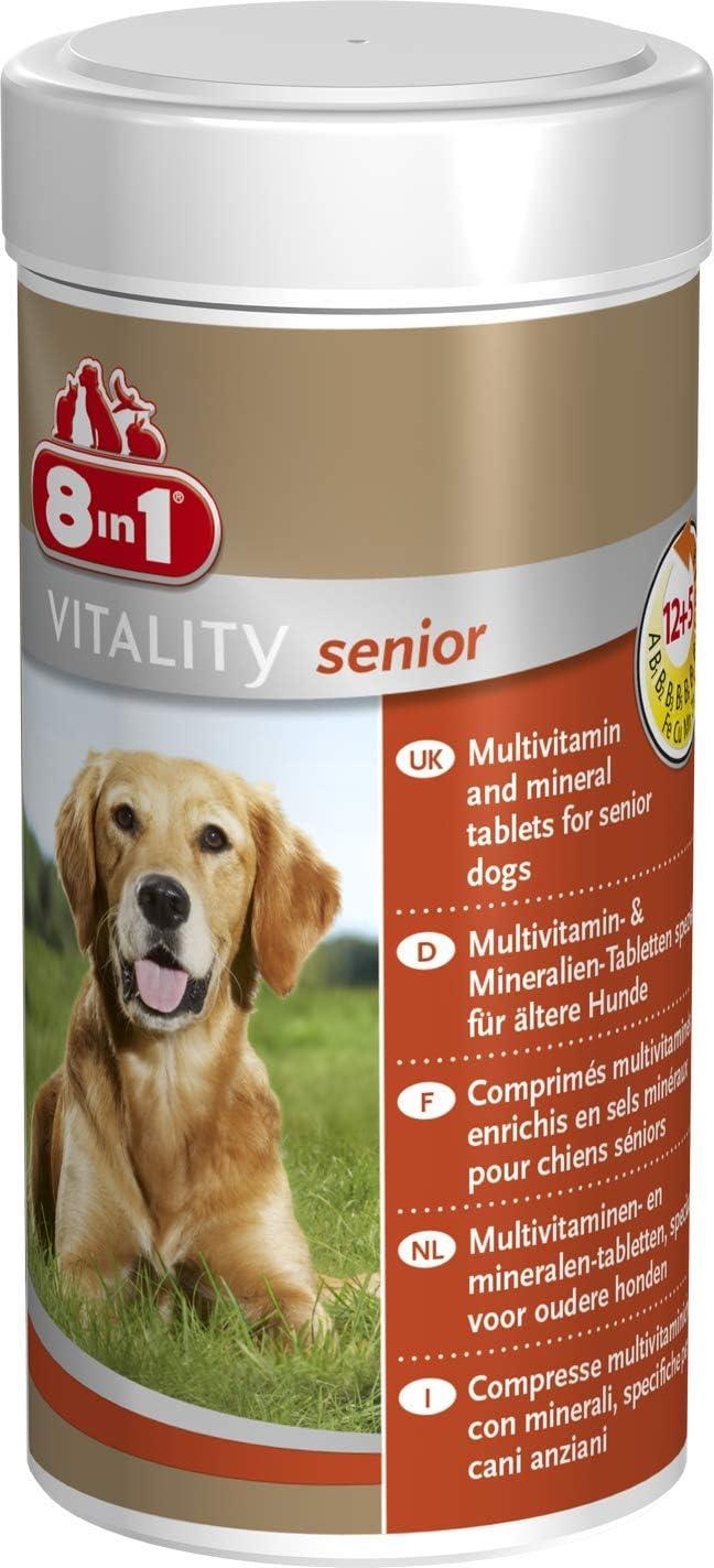 8in1 Pastillas Vitamina Multi para Perros Mayores, 70 tabletas
