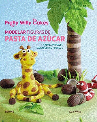 Modelar figuras de pasta de azúcar: Hadas, animales, alienígenas, flores...