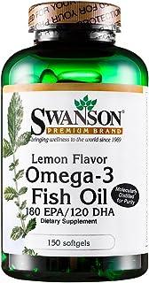 Swanson斯旺森欧米伽3Ω3 深海鱼油软胶囊150粒 (3瓶装)