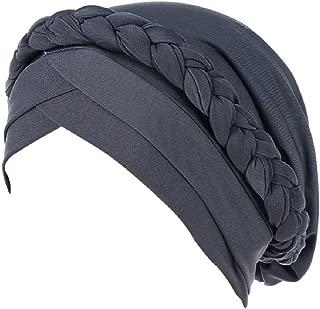 Beanie Scarf Braid Beading Braid India Hats Cancer Chemo Beanie Turban Warm Wrap Cap