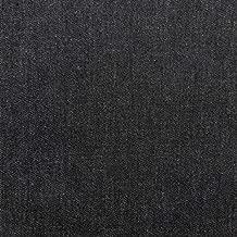 1 Yard of Black Gray Denim Fabric B-1 Cotton 60
