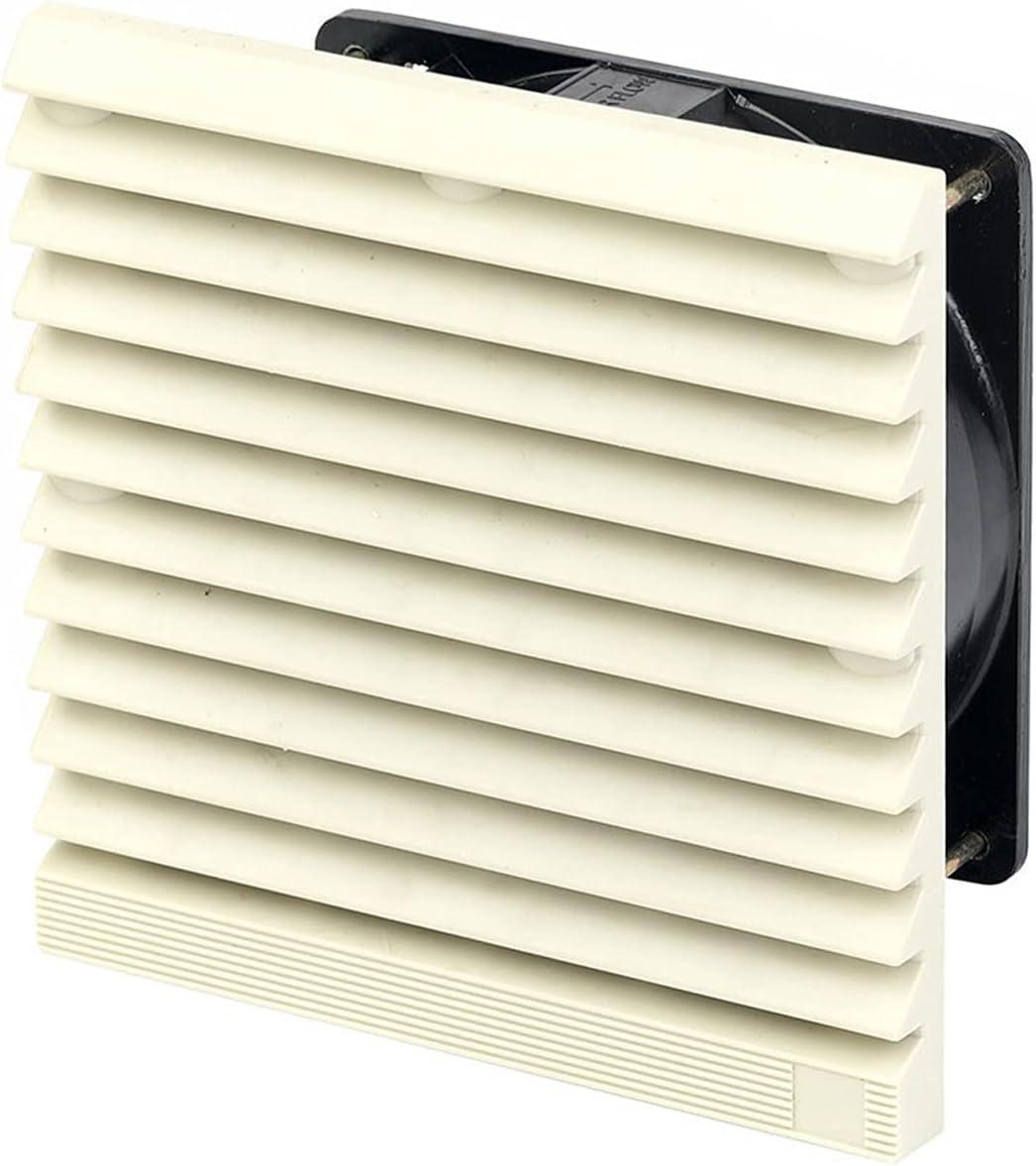 Ventilador Extractor 204 * 20 4MM Obturador de escape del ventilador eléctrico del ventilador del gabinete filtro de ventilación Persianas cubierta a prueba de agua de escape Rejilla Las rejillas del