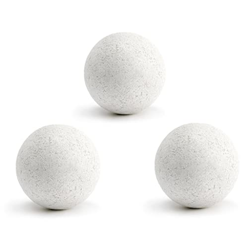 3 Balles Baby Foot Liège Blanches
