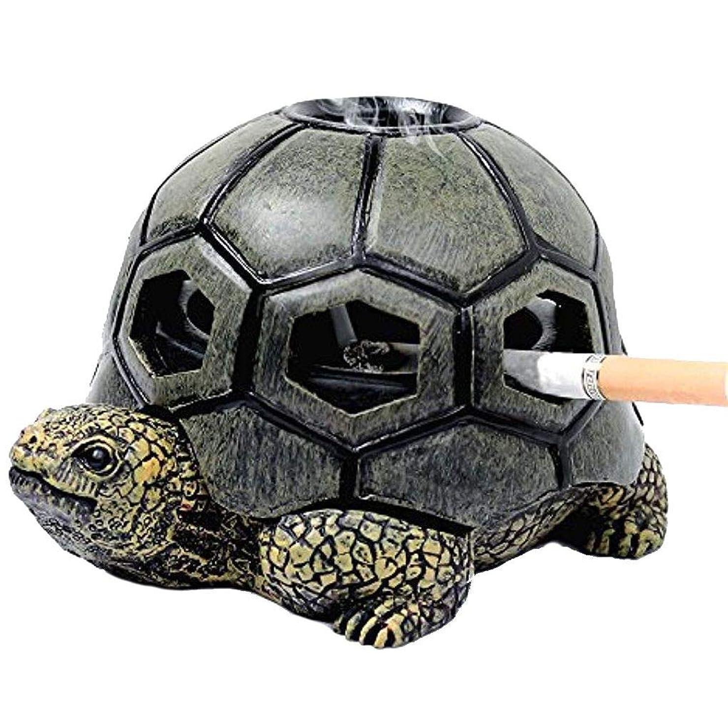 これら消毒する成熟TopFires ユニークな煙プレートデコレーション環境保護タバコトレイ携帯アクセサリータートル灰皿