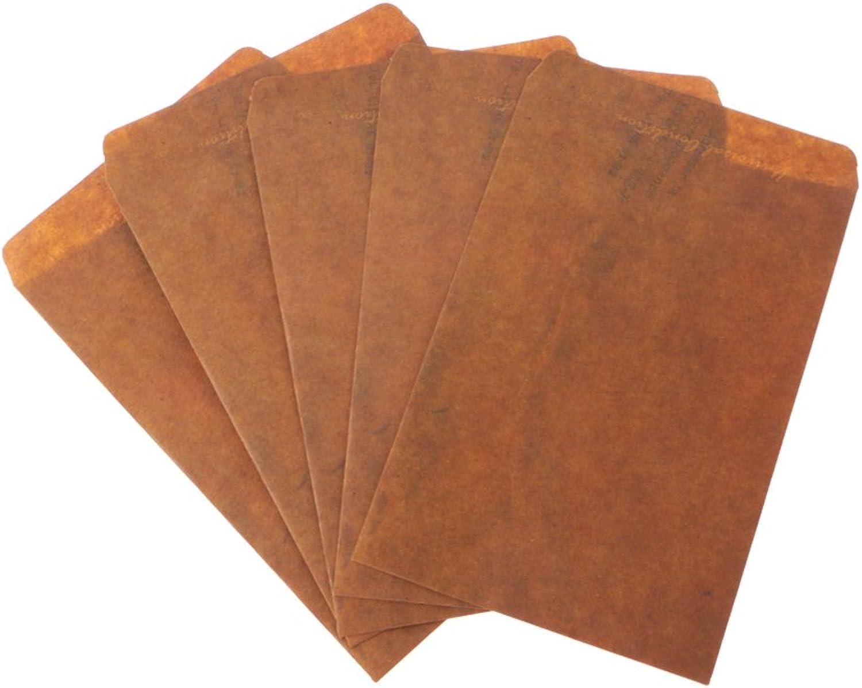 Yofo Fire Paint braun Vintage Stil Papier Umschlag für Arts Pack von 5 x B07FQJXX71   München