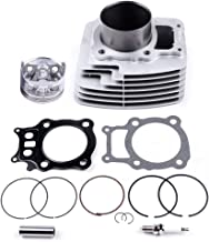 ECCPP New Cylinder Piston Ring Gasket for 2000-2006 Honda Rancher 350 TRX350 TRX350FE 4x4 Compatible fit for Cylinder Piston Gasket Top End Kit