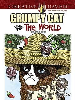 Creative Haven Grumpy Cat Vs. The World Coloring Book (Creative Haven Coloring Books)