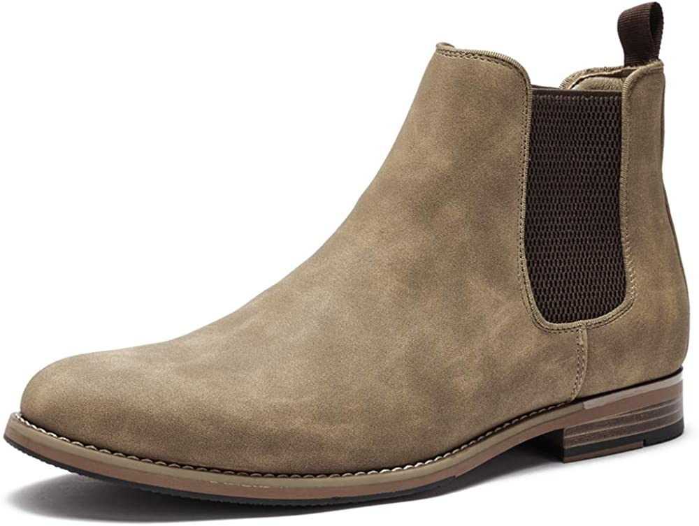 COOL COSER C Max 58% OFF Max 80% OFF Mens Casual Chelsea Ankle Boots Slip on