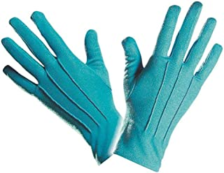 Rimi Hanger Adults Short Gloves with Piping Womens Hen Party Gloves Fancy Dress Accessory