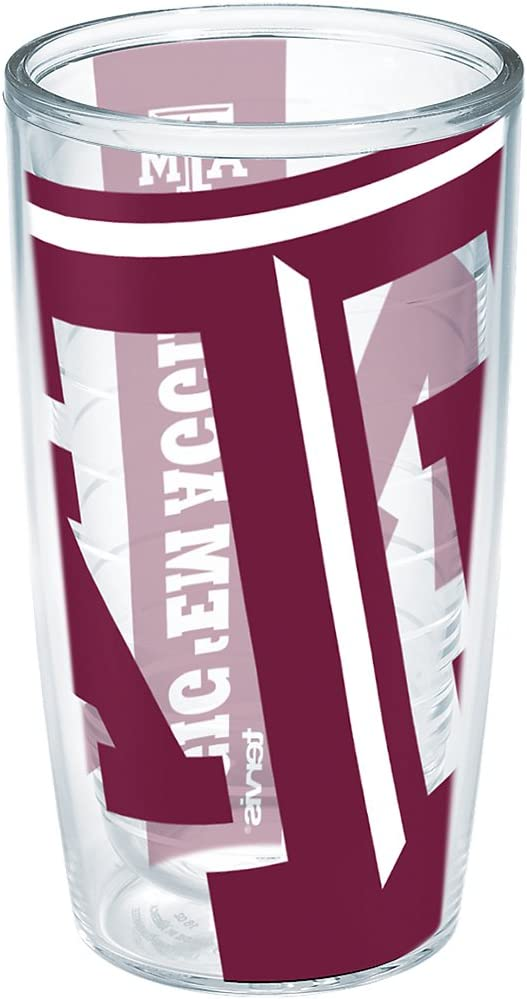 55% OFF Tervis Texas Am University Colossal Easy-to-use 16 Individual Tumbler Wrap