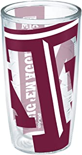 Tervis Texas Am University Colossal Wrap Individual Tumbler, 16 oz, Clear