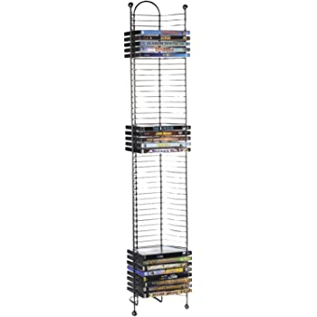 Atlantic 52-DVD/BLU Ray Disc Tower - PN 63712035 in Gunmetal