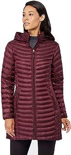 Womens Ultra-Light Down Long Packable Jacket
