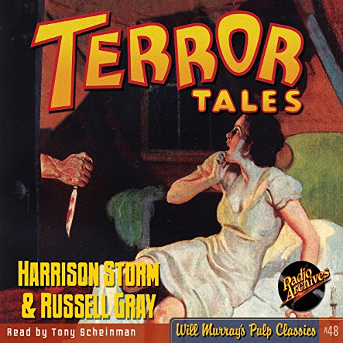 Terror Tales: Harrison Storm and Russell Gray audiobook cover art