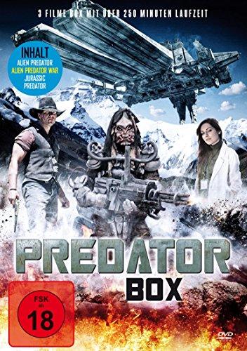 Predator Film Collection: Alien Predator - Alien Predator War - Jurassic Predator
