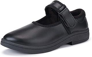 Camfoot-1201 Black Affordable Range of School Shoes for Kids & Girls