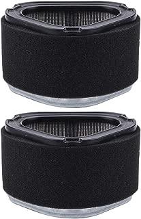 Kizut 2Pack 12 083 05-S M92359 Air Filter for John Deere LT155 LT133 LX173 LTR155 GY20574 AM121608 AM123553 Lawn Mower Parts Kohler 12 083 05 12 083 08-S 12 083 08 Kit
