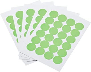 AmazonBasics Print/Write Self-Adhesive Removable Labels, 0.75 Inch Diameter, Green Neon, 1008-Pack